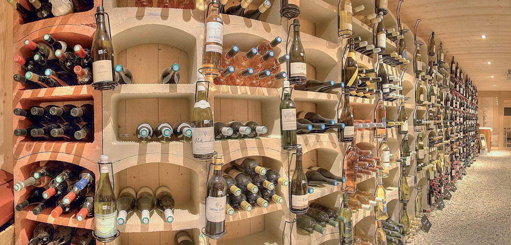 aménagements de cave à vin