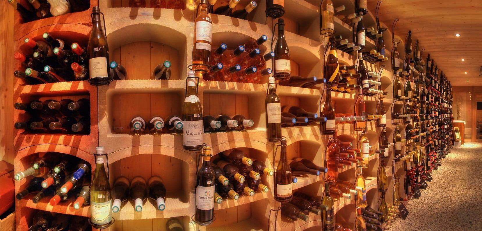 Cave A Vin En Brique bloc cellier les rangements bouteilles pour votre cave