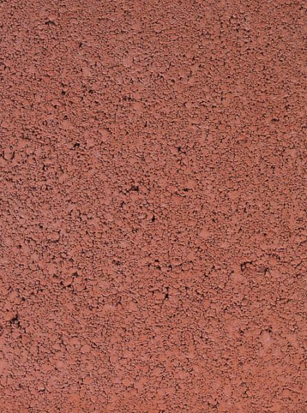Texture des casiers en pierre reconstituée Terre Rouge
