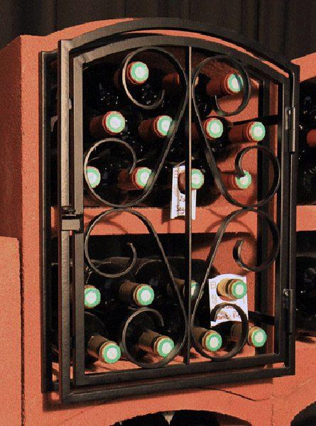 porte-fer-forge-Cave-rangement-vin-casier-a-bouteille-Bloc-cellier