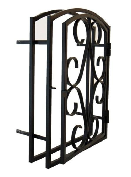 Porte en fer forg compatible bloc standard ou maxi - Porte en fer forge exterieur ...